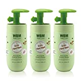 WBM LLC 8617-3PK Baby Hand Wash Honey & Wheatgerm Oil, 3-Pack,