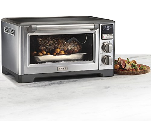 Wolf Gourmet Countertop Oven with Convection (WGCO120S) (Stainless Steel)