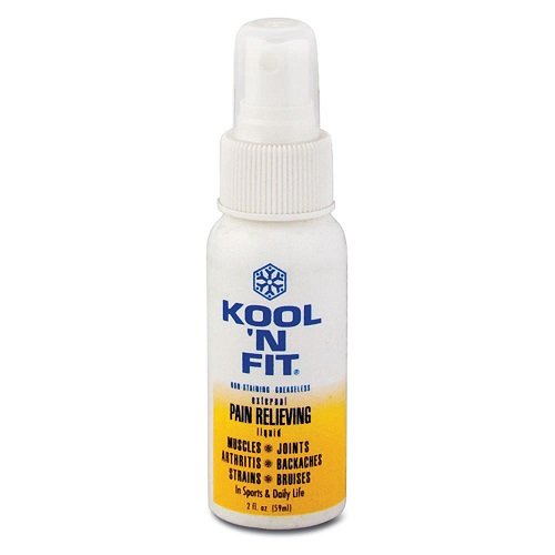 Kool 'N Fit Pain Relieving Spray 2 oz. Bottle by Kool N FIt