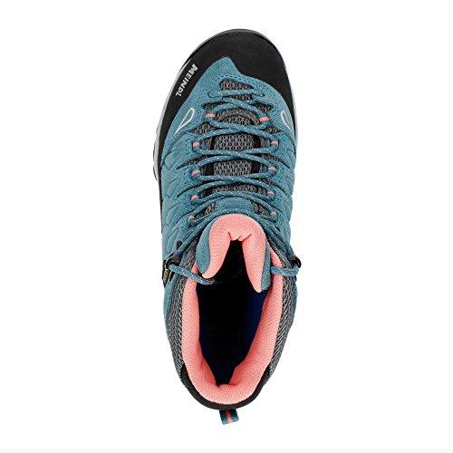 Femmes lachs Chaussures Pour Marche Jeans De Meindl 7qIFYxpwF