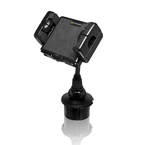Bracketron Cup-iT XL Car Truck Cupholder Mount Holder Cradle Garmin Nuvi TomTom Via Go Magellan DashCam Navigator Smartphones -
