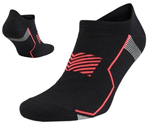 SA SocksAbility Mens`s Cotton No-Show Ankle Low Cut Athletic Performance Socks