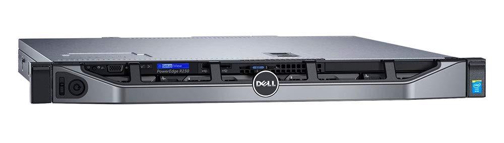 Intel Xeon E3-1230 v6 Quad-Core 3.5GHz 8MB Rail Kit Single PSU 3 Year Warranty Dell PowerEdge R230 Rack Server 32GB DDR4 RAM 8TB Storage Windows 2016 STD OS RAID