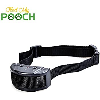 Anti-Bark Collar - Shock Collar For Dogs with Bark Control Collar Vibration - Dog Shock Collar Uses Feedback & Adjustable Sensitivity - No Bark Collar For Small Dog & Large Dog - Best Dog Bark Collar