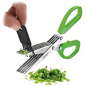 Home Stainless Steel 5 Blade Kitchen Scissors