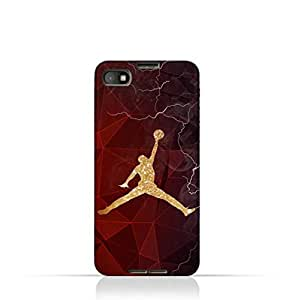Blackberry Z30 TPU Silicone Protective Case with Jordan Air Design
