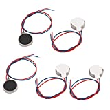 5pcs DC3V/0.1A 1.5V/0.05A 10x2.7mm Coin Mobile Phone Vibration Motor