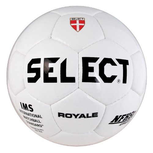 Select Sport America Royale Soccer Ball, 5, White (Select Soccer Ball Brilliant)