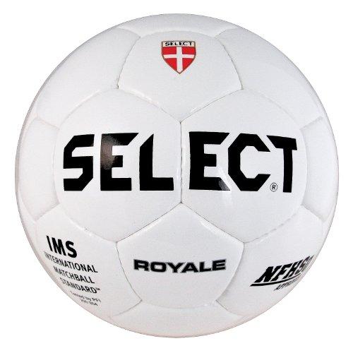 Select Sport America Royale Soccer Ball, 4, White