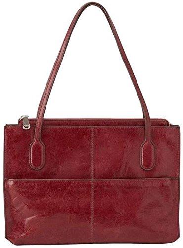 Hobo Women's Genuine Leather Vintage Friar Top Handle Shoulder Bag (Mahogany) by HOBO