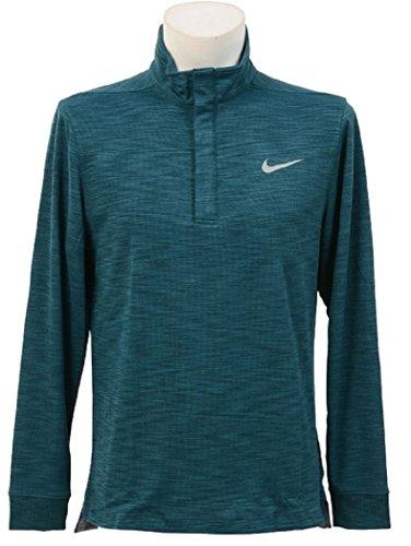 NIKE ナイキ ドライウォーム 長袖ハイネック ポロシャツ ゴルフウェア Mサイズ(163-175cm) 国内正規品 727099 ミッドナイトターク