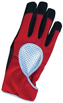 Womanswork 808S Performance Glove with Toughtek, Red, Small