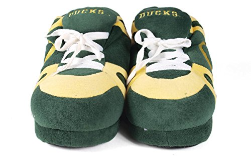 Slippers College Sneaker and Ducks OFFICIALLY NCAA LICENSED Womens Feet Oregon Men's Happy nqfFz0xw8f
