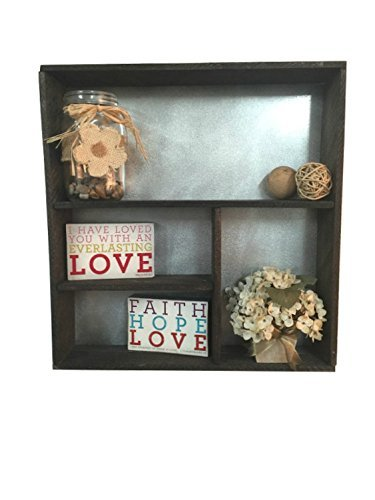 Amazon.com: Rustic shelf, wooden shelf, rustic home décor, wall ...