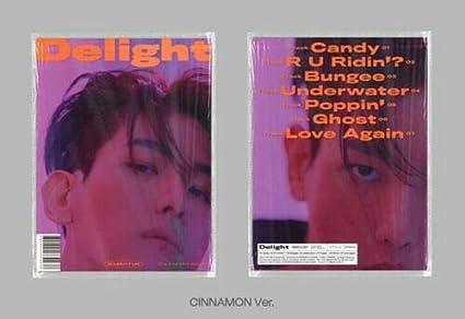 Amazon Com Exo Baekhyun Delight 2nd Mini Album Cinnamon Version