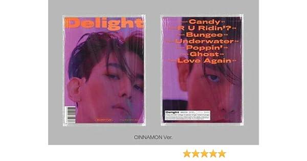 Cinnamon ver. SM Ent Baekhyun 2nd Mini Album Delight Album+Folded Poster+Extra Photocards Set