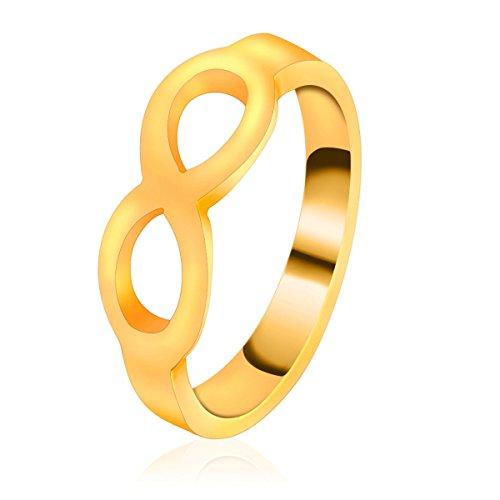 IPINK Stainless Steel Wedding Ring