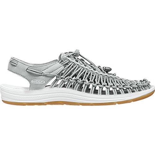 KEEN Damen Uneek 8MM Sandale Neutral Grau / Weiß