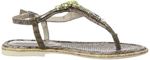 Marco Tozzi 28100 - Sandalias de dedo Mujer Marrón - Braun (PEPPER COMB 301)