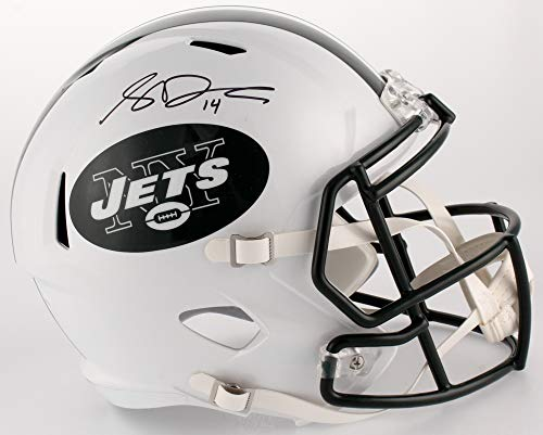 Sam Darnold New York Jets Signed Autograph Full Size Speed Helmet JSA Witnessed Certified