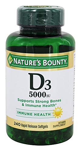 Vitamin D3 By Nature'S