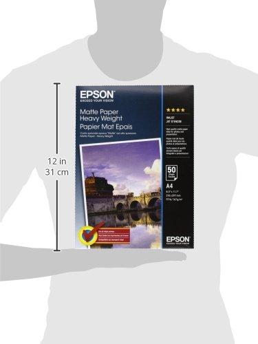 Epson C13S41256 Carta fotografica Heavy White risma A4 50 fogli 21 x 29,7 cm