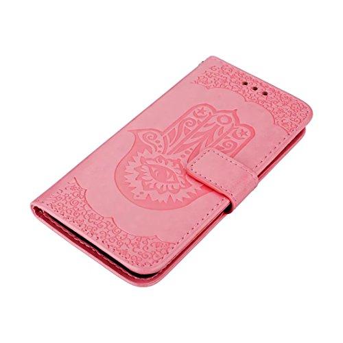 COWX Huawei P10 Lite Hülle Kunstleder Tasche Flip im Bookstyle Klapphülle mit Weiche Silikon eule Handyhalter PU Lederhülle für Huawei P10 Lite Tasche Brieftasche Schutzhülle für Huawei P10 Lite schut