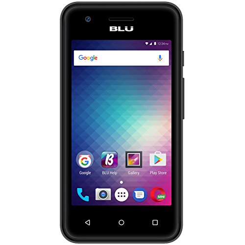 BLU Dash L3 D931u 8GB Unlocked GSM Phone w/ 5MP Rear + 2MP Front Cameras - Black