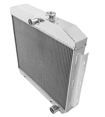 NEW FROSTBITE ALUMINUM RADIATOR,2 ROW,FITS 55-57 CHEVY,V8,265,283