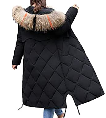 WNSY Women Plus Size Plus Size Hooded Zipper with Faux-Fur