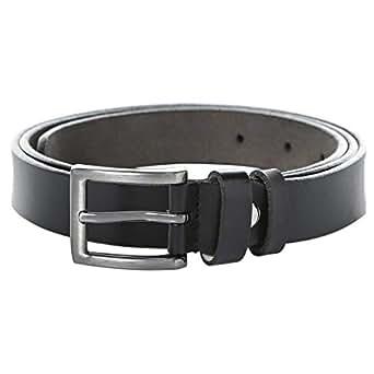 Venus Accessories Black Leather Belt For Women
