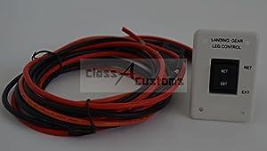 New RV 5th Wheel Landing Gear Wire Harness w/ Switch