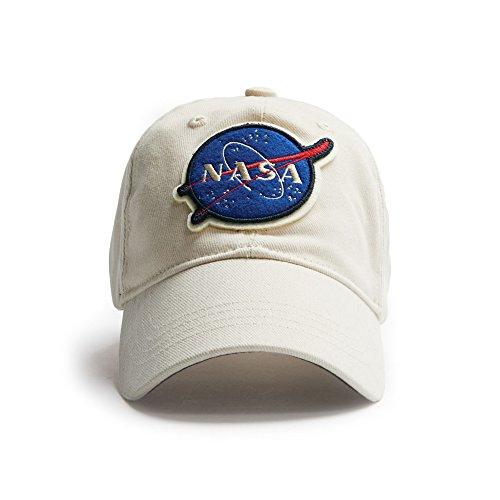 Red Canoe Men's NASA Cap (Stone)