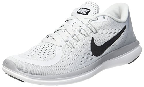 Cool Platinum Pure RN Grey Running Mujer 2017 Nike de Grey Black Wolf Zapatillas 002 Gris Flex wqBg8zO