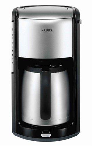 Krups Proedition Therm INOX FMF2, Negro, Cromo, 1100 W - Máquina de café: Amazon.es: Hogar