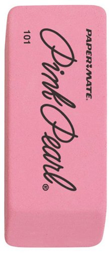 30 Pack NEWELL CORPORATION ERASER PINK PEARL LARGE 1 EA