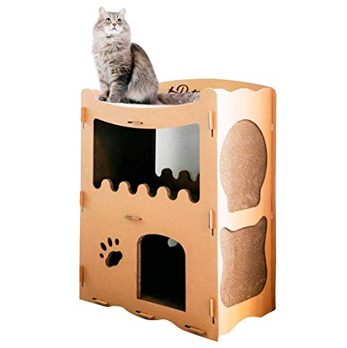 PETIQUE Feline Penthouse Cat House