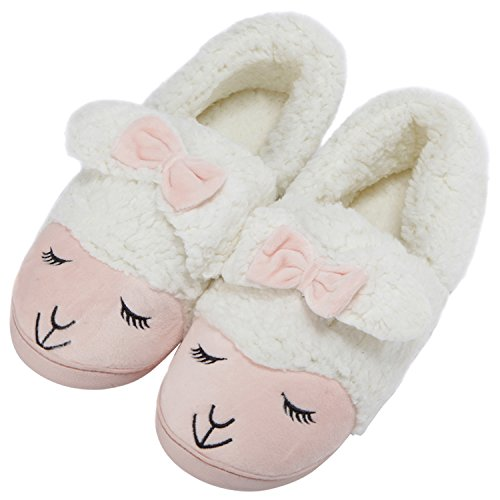Women's Sheep Warm Plush Soft Sole Indoor Slipper