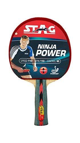STAG Ninja Power - Raqueta de Tenis de Mesa: Amazon.es ...