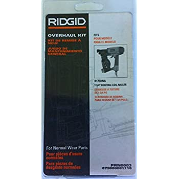 Ridgid R250sfa Straight Finish Nailer Driver Maintenance