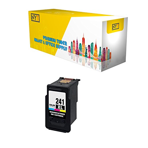 New York TonerTM New Compatible 1 Pack CL-241XL High Yield Inkjet For - PIXMA MG3222 | PIXMA MG4120 | PIXMA MG4220 | PIXMA MX392 | PIXMA MX439 | PIXMA MX452. -- Color