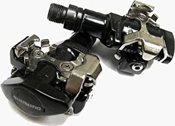 f1bc7468ed5 Image Unavailable. Image not available for. Colour: Shimano SPD M505  Clipless MTB Pedals-Silver