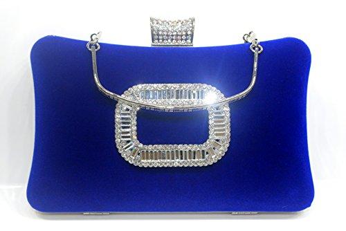 Robe Sac Velours à Le Sac Mme Diamant Diamants de dîner de black soirée FYios Main dîner Sac Sac soirée gS4qP