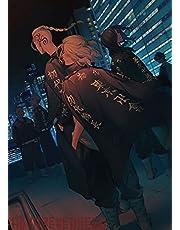 Anime Tokyo Revengers Poster Manji Gang Stad Neon Nacht Canvas Schilderij Art Slaapkamer Decoratie Kawaii Kamer DecorA2669 50×70CM Zonder Frame