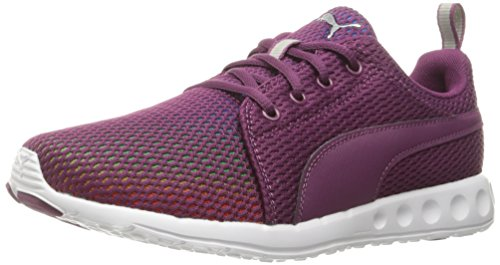 PUMA Women's Carson Prism Wn's Running Shoe, Magenta Purple/Puma, 8.5 M US (Women Pink Puma Shoes)