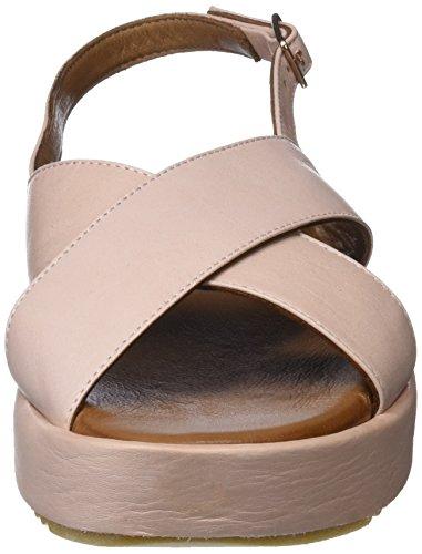 Inuovo Damen 9004 Peeptoe Sandalen Pink (blush)