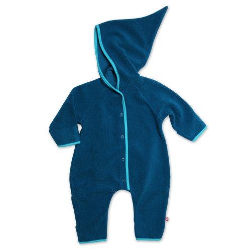 Zutano Infant Baby-Cozie Elf Romper, Pagoda, 6 Months (Fleece Romper Suit)