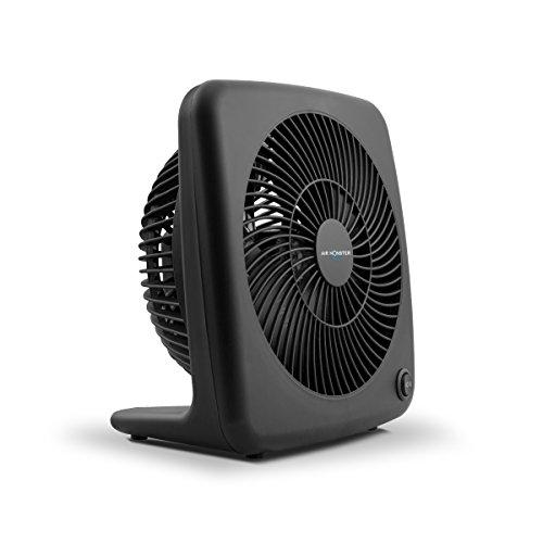 Air Monster Personal Table Fan - 7 Inch | Desk Fan | Tabletop Fan, 2 Speed Settings - ETL Listed, Black