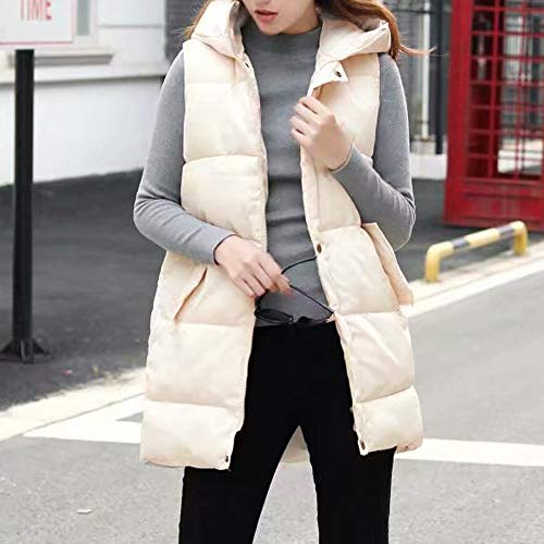 Outdoor Alla Bianca Jacket Giacca fashion Down Donna Hooded Womens Da Pocket Coat Moda Vest EERnzvHOqw