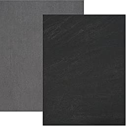 Backdrop Alley Charcoal/Light Grey Reversible Muslin Photo Background, 10\' x 24\'